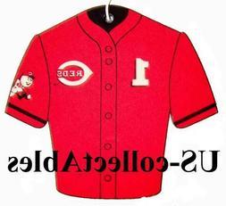 MLB Cincinnati Reds Baseball Jersey Air Freshener Original C