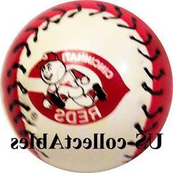 MLB Cincinnati Reds Baseball Keychain NEW Sports Collectible