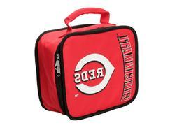 MLB Cincinnati Reds  Baseball Logo Insulated Lunch Box Coole