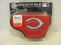 MLB Cincinnati Reds Blade Putter Cover, Black