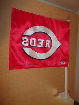 MLB CINCINNATI REDS CAR FLAG