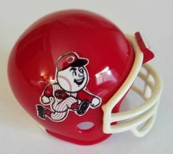 MLB Cincinnati Reds Football Helmet Custom Made Pocket Pro S