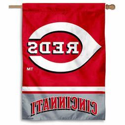 MLB Cincinnati Reds House Flag and Banner