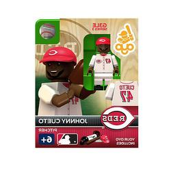 MLB Cincinnati Reds Johnny Cueto Generation 3 Toy Figure NEW