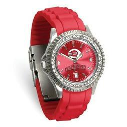 MLB Cincinnati Reds Ladies Sparkle Watch Style: XWL1201 $64.