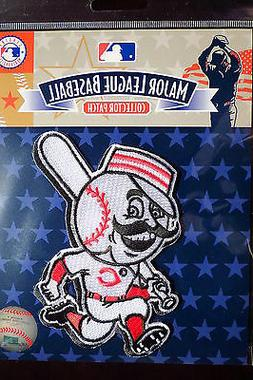 MLB Cincinnati Reds Running Man  Team Emblem Patch 2007