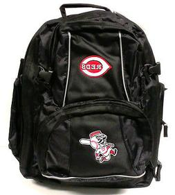 MLB Cincinnati Reds Trooper Backpack, Black