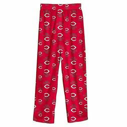 Outerstuff MLB Cincinnati Reds Youth Boys Sleepwear Pant, Si