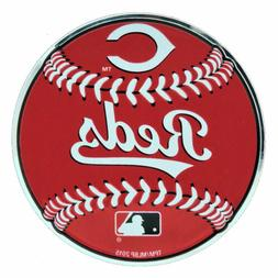 MLB Officially Licensed Baseball Cincinnati Reds Aluminum Em