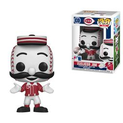 MR. REDLEGS CINCINNATI REDS MLB MASCOT FUNKO POP FIGURE VINY