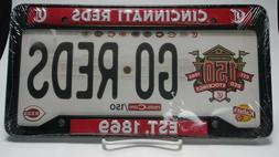 New Cincinnati Reds License Plate Frame SGA Fathers Day 150t