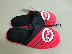 new mens MLB Cincinnati Reds logo slippers