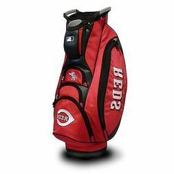 NEW Team Golf MLB Cincinnati Reds Victory Cart Bag