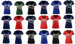 New MLB G-III Sports Women's Homefield T-Shirt
