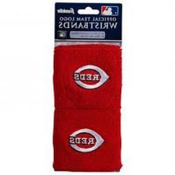 New Franklin Official team Logo Wristbands Cincinnati Reds