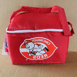 New Old Stock CINCINNATI REDS Soft Sided Lunch Box  6in x 9i