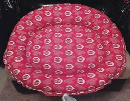 Handmade Pet/Dog CINCINNATI REDS Cotton blend Bed Washable M