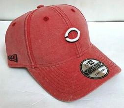 rare CINCINNATI REDS HAT faded wash STRUCTURED FIT small log