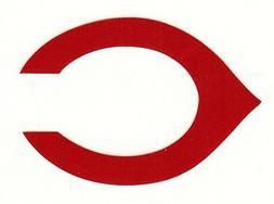 REFLECTIVE Cincinnati Reds fire helmet decal sticker RTIC wi