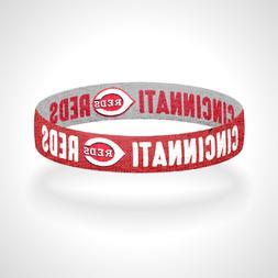Reversible Cincinnati Reds Bracelet Wristband Big Red Machin