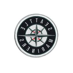 Seattle Mariners Official Team Sleeve Round Jersey Patch Sil