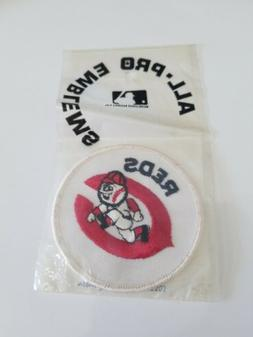 VINTAGE CINCINNATI REDS ALL PRO EMBLEMS OFFICIAL LICENSED NE