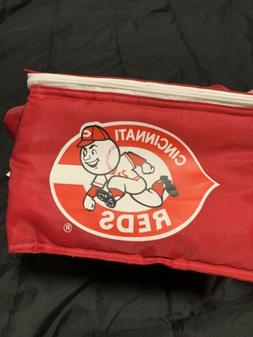 Vintage Cincinnati Reds Lunchbox/Cooler 80s 90s New With Tag