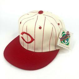 Vintage Cincinnati Reds New Era Pro Model Fitted Hat Cap Woo