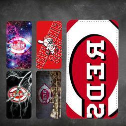 wallet case Cincinnati Reds iphone 7 iphone 6 6+ 5 7 X XR XS